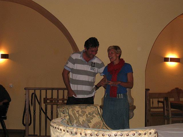 Rene and Daniela