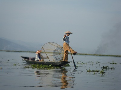The Iconic Fishermen of Inle Lake