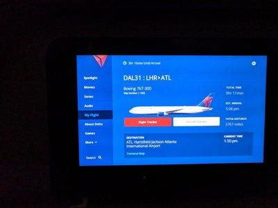 delta seat back
