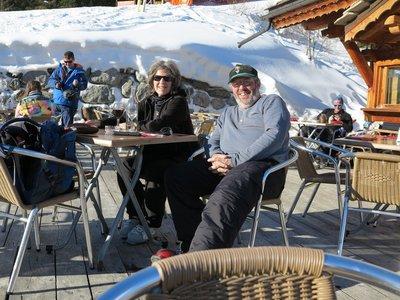 lunch slopeside