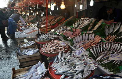 Fish market in Karakoy
