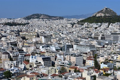 The sprawl that is Athens