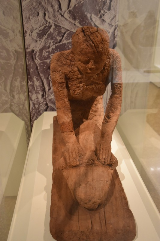 A wooden statue from Egypt circa 3500 BC!