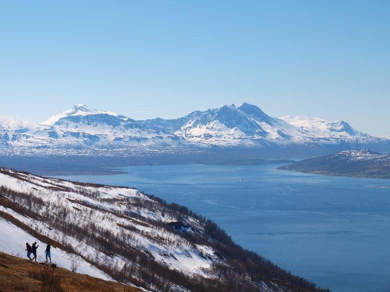 On top of Fjellheisen