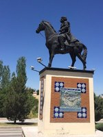 Battalgazi Has an Equestrian Statue Too