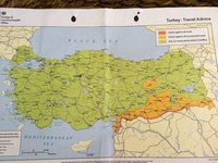 Map To Show Turkey's No Go Areas