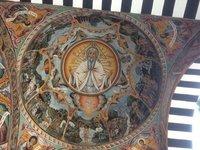 Orthodox Christian Roof Mural @ Sila Monastery