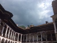 A Storm Brews Above Rila Monastery