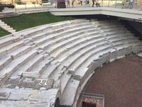 Roman Stadium in Plovdiv, Underneath Main Shopping Street
