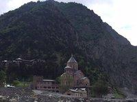 First & Last Georgian Church Right on Border