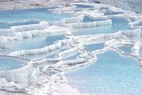 Travertine Pools @ Pamukkale Rarely Look Like This
