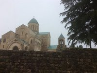 Bagrati Cathedral - In Very Heavy Rain