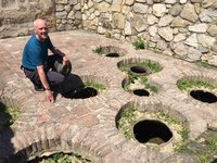 Not Roman Toilets - Sunken Wine Jars Used to Ferment Georgian Wine
