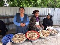 Mushroom Ladies - Gombori Village