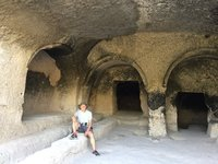 AG in Old  Refectory @ Vardzia Cave Monastery