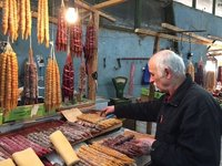 Churchkela in Kutaisi Market