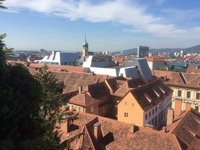 The Skyline of Graz- Old & New Roofs