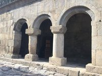 Entrance to Church @ Vardzia Nunnery
