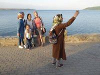 Turkish Selfie by Lake Van