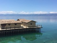 Bay of Bones Museum & Gorgeous Lake Ohrid Ohrid
