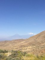 The First of Many Sightings of Mts. Ararat - Impossible to Have Too Many