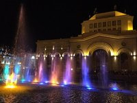 Music Fountain & Light Display, Republic Square