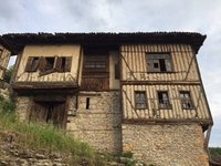 An Old Ottoman House in Need of Restoration.