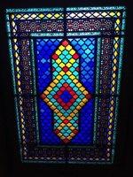 Stained Glass Window - Typical Azeri Decoration