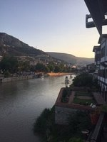 Sunset over Amasya