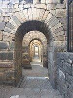 Vaulted Foundations to Roman Temple at Pergamum - Amazing Engineering