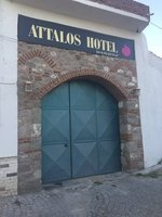 Large Entrance to Our Hotel  in Bergama
