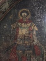 Fresco in Sapara Monastery
