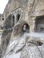 Restoration of Vardzia Caves - Good or Bad?