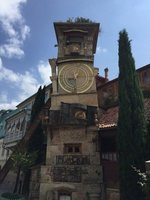 Clock Tower in Shavteli Area Tbilisi