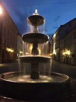 Fountain in Ljubiliana
