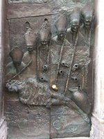 Bronze Church Door, Old Ljubiliana