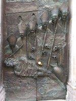 Bronze Church Door, Old Ljubiliana