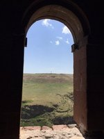 Looking out From Cathedral to Armenian Border