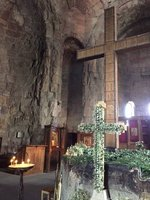 Gorgeous Interior of Jvari Church 585-604