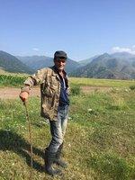Armenian Herdsman Near Odzun