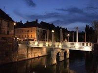 3 Bridges in Ljubiliana