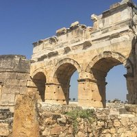 Northern Basilica Gate to Hierapolis