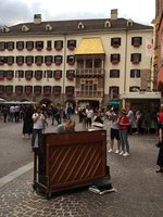Live Music in Innsbruck with the Golden Roof Behind