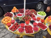 Lots of Local Fresh Fruit for Sale