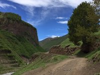 The Rough Road Through the Scenic Truso Valley