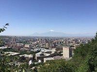 Mother Armenia's View of Mt Ararat