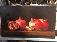 Pomegranates Feature Much in Armenian Artwork & Cuisine