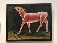 Roe Deer by Niko Pirosmani