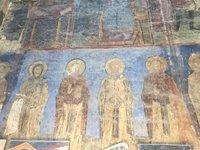 13C Wall Fresco in Akhtala Monastery