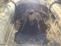 13C Ceiling Fresco in Akhtala Monastery